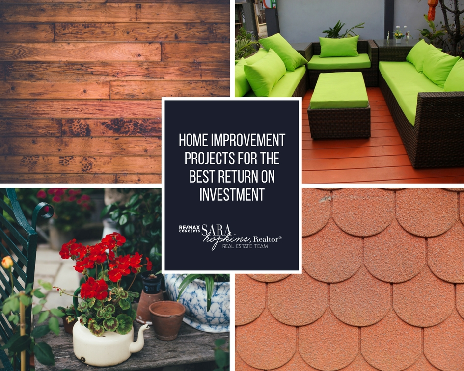 Home improvement projects for the best return on for Best return on investment home improvements